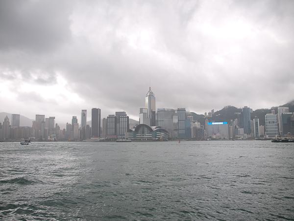 เกาะฮ่องกงยามฝนตก