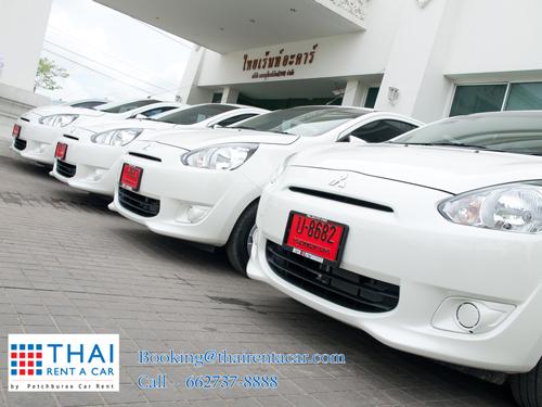 Enjoy now!!! New Mitsubishi Mirage@Thai Rent A Car