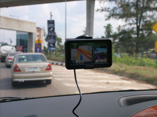 GPS ในการนำทาง