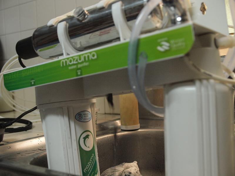 ล้างเครื่องกรองน้ำ DIY