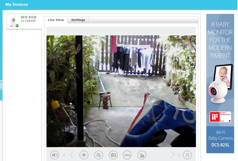 ipcamera Dlink DCS932L