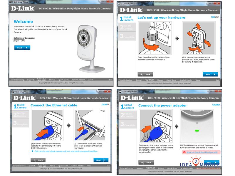 Setup IP Camera Dlink DSC 932L