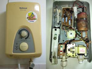 ซ่อมเครื่องทำน้ำอุ่น อาการน้ำไม่หยุดไหล